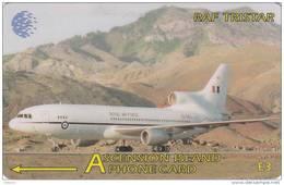 ASCENSION ISL.(GPT) - RAF Tristar, CN : 134CASC, Tirage 2000, Used - Ascension