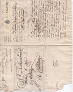 Lettre Du Maire De Sées à Celui De Castelsarrazin, 8/8/1829 - Historical Documents