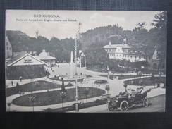 AK BAD KUDOWA Auto Oldtimer  1922  // D*22933 - Schlesien