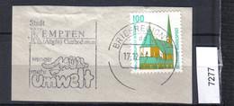 BRD Mi.1406 Stempel Briefzentrum 87