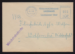 DDR AFS - VEB Braunkohlekombinat LAUCHHAMMER 15.2.60 (84) - DDR