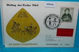 SO5101 Welttag Des Kindes, Kinderfreunde, Wien 1964 - Organizations
