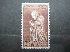 Pope Clement XIII # Vatican Vatikan Vaticano MNH 1958 # Mi. 296