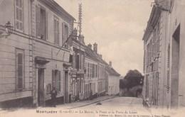 MONTLHERY LA MAIRIE  LA POSTE ET LA PORTE DE LINAS  (dil277) - Montlhery