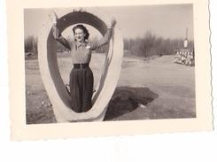 26164 Cinq 5 Photo  De Juillet 1952 - Alsace Femme Grand Ballon -Colmar