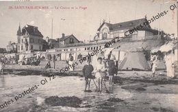 CPA [50] Manche > Saint Pair-sur-Mer - Le Casino Et La Plage - Animée - Saint Pair Sur Mer