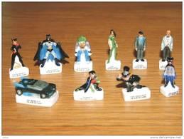 Fèves Batman Série Complète 10 Pièces - Cartoons