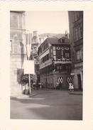26166 Six 6 Photo  De Juillet 1952 - Alsace Mulhouse Strasbourg -vieille Voiture
