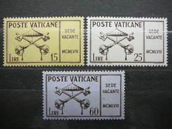 Pope Pius XII- Disease # Vatican Vatikan Vaticano MNH 1958 # Mi. 300/2