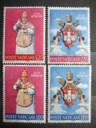 Pope Johannes XXIII- Coronation # Vatican Vatikan Vaticano MNH 1959 # Mi. 303/6