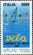 Italy 1989 1 V Used World Championship Sailing