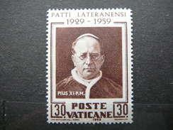 Pope Pius XI # Vatican Vatikan Vaticano MNH 1959 # Mi. 313