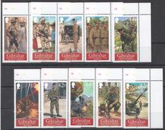 E53 2008 GIBRALTAR WAR WWI WWII & OTHER WAR OPERATIONS 1SET MNH