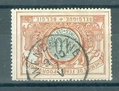 """BELGIE - OBP Nr TR 28 - Cachet  """"WENDUYNE"""" - (ref. 10.840) - Chemins De Fer"""