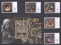 E62 GIBRALTAR CHRISTMAS 2011 CENTENARY OF THE DIOCESE 1SET+1KB MNH - Christmas