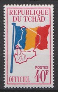 Tchad  1966 -Service - YT N°6A N* MH