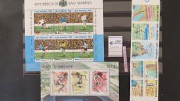 San Marino- Nice Ensemble Of MNH Sheets  And Booklet