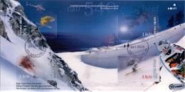 Finland 2008 Blok Alpine Skiën GB-USED - Oblitérés