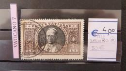 Vatican- Sassone Num. 30 USED