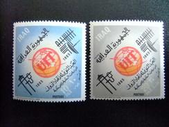 IRAK IRAQ 1965 Centenaire De  I.T.U Telecommunications Yvert 413 / 414 ** MNH