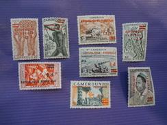 CAMEROUN   1961  N°320 à 327   **