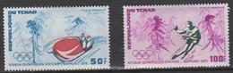 Tchad  1972  -  PA  N° 111/112 -  N* MH Jeux Olympiques D´hiver à Sapporo