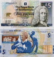 SCOTLAND - RBS      5 Pounds    Comm.   P-365    14.7.2005       UNC - 5 Pounds