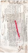 78 - VERSAILLES- OBLIGATION ALIENATION DOMAINES NATIONAUX- LORICHON DE SAINT REMY- 14 PRAIRIAL AN 5- LEMIGRE - RARE - France