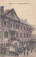 62  FRUGES  -  Institution St Berthulphe  - élève Prosper Réant à Roquetoire  -   CPA  N/B  9x14 BE - Fruges