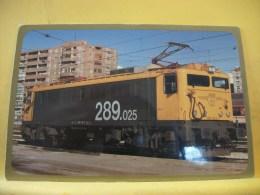 TRAIN 8605 - VISTA N ° 105/289 - SERIE 289 Trenes Ferroviarios ESPAÑOLA - LOCOMOTORA ELECTRICA 289-025-9 (EX. 8925) C... - Trenes