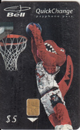 CANADA - Basketball, Toranto Raptors, Tirage 75000, 01/97, Used - Kanada