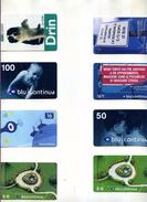 PROMOZIONE LOTTO STOCK 8 SCHEDE TELEFONICHE INFOSTRADA BLU VEDI FOTO - Italia