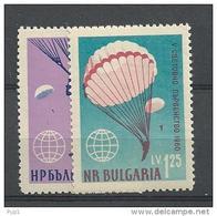 1960 MNH Bulgaria, Parachute  Postfris - Unused Stamps