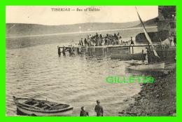 TIBERIAS, ISRAEL - SEA OF GALILÉE - ANIMÉE - - Israel