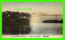 MATSUSHIMA ISLAN, JAPON - VIEW IF MATSUSHIMA ISLAND SEA - TRAVEL IN 1928 - - Japon
