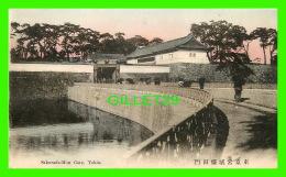 TOKIO, JAPON - SAKURADA-MON GATE - ANIMATED - - Tokyo