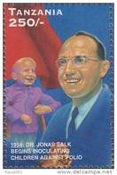 Dr Jonas Salk Polio Vaccine, Health, Disease, Immunization, Nobel Prize, Disabled / Handicapped, MNH Tanzania - Medizin