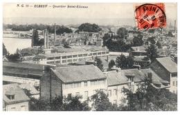 76 ELBEUF : Quartier Saint Etienne (pli Coin Droit) - Elbeuf