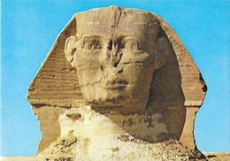 GIZA - The Head Of The Famous Sphinx - Sphinx