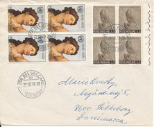 Vatican Cover Sent To Denmark 22-10-1970 - Covers & Documents