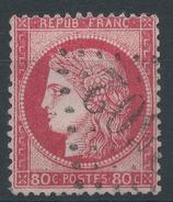 Lot N°35077  Variété/n°57, Oblit GC 2502 MONTPELLIER (33) ???, Gréque SUD EST, Filet OUEST - 1871-1875 Ceres