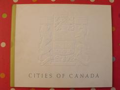 Cities Of Canada. 22 Planches Couleurs. Peintures Des Villes. Arbuckle Hallam Leighton Bice... Vers 1951. Emboitage - Architettura