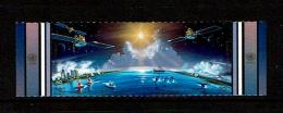 United Nations 1992 Sc # 609 / 610  MNH **  Mission To Planet Earth - Espace