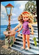 """CARTOLINA BAMBOLA """"FURGA"""" 1972 - Cartoline"""
