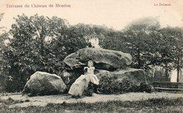 CPA TERRASSE DU CHATEAU DE MEUDON - LE DOLMEN - Meudon