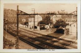 CPA.- FRANCE - Chamarande Est Situé à Quarante Kilomètres Au Sud-ouest De Paris Dans Le Dép. De L'Essonne - La Gare -TBE - Autres Communes