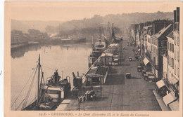 CHERBOURG    ( 50 ) Le Quai Alexandre III Et Le Bassin Du Commerce - Cherbourg