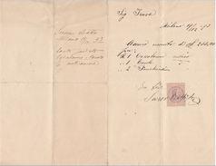 RICEVUTA 1893 CON MARCA DA BOLLO (D113 - Italia