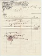 FATTURA 1899 SALA ALESSANDRO NEGOZIANTE IN MOBILI (D116 - Italia