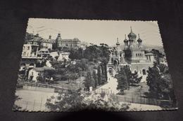 Nice - L'Eglise Russe Et Lycée Du Parc Impérial N° Envoyer 1956 Sans Timbre - Monumenten, Gebouwen